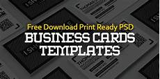 Free Template Business Cards To Print Free Business Cards Psd Templates Print Ready Design