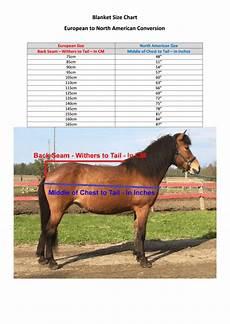 European Horse Blanket Size Chart Eaglewood Equestrian Horse Blanket Size Chart European