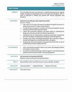 Project Cv Assistant Project Manager Cv Ctgoodjobs Powered By