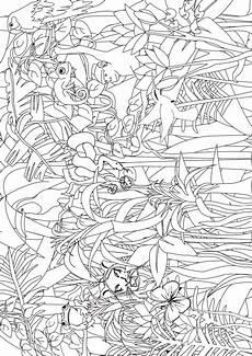 malvorlagen urwald zum ausdrucken jungle coloring search for pre k and kindergarten