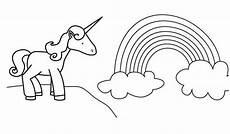 Ausmalbild Regenbogen Mit Einhorn Einhorn Ausmalbilder Zum Ausdrucken Sch 246 N Ausmalbilder