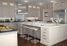 kitchen cabinet island ideas white shaker cabinets the trend in kitchen design