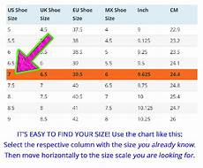 Jordan Foot Size Chart Is The Us Size 11 In Sneakers The Same As 44 5 In China
