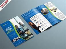 Bifold Flyer Corporate Bifold Brochure Psd Template Psdfreebies Com