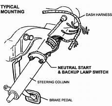 Column Shift Neutral Safety Amp Backup Lamp Switch