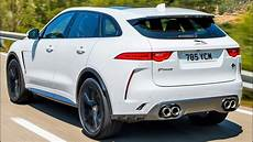 Jaguar Suv 2020 by 2020 White Jaguar F Pace Svr Practical Performance Suv