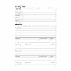 Business Meeting Minutes Template Free Free Templates For Business Meeting Minutes