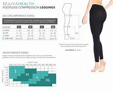Tights Size Chart Compression Amp Size Charts Rejuvahealth
