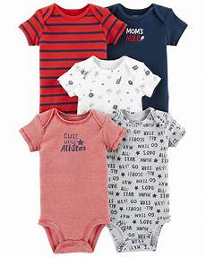 baby clothes 5 pack sports original bodysuits carters