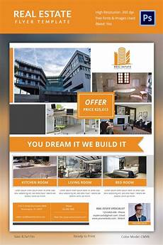 Commercial Real Estate Templates Real Estate Flyer Template 37 Free Psd Ai Vector Eps