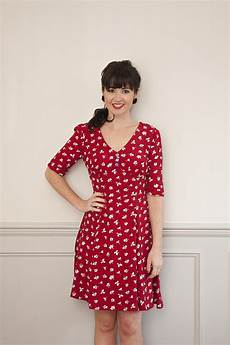 sew it 1940 s tea dress sewing pattern sew