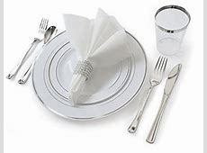 Wedding Disposable Dinnerware: Amazon.com