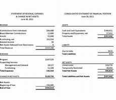 Finacial Report Church Financial Report Template Sampletemplatess