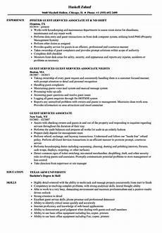 Guest Services Resume Guest Services Associate Resume Samples Velvet Jobs