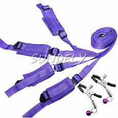purple high quality the bed restraint system bound