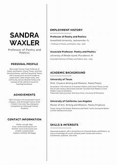 Resum Cv Cv Templates Resume Builder With Examples And Templates