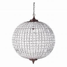 Ball Ceiling Light Finon Metal Ball Ceiling Light D 60cm Maisons Du Monde