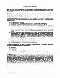 Standart Contract Standard Form Contract Doc