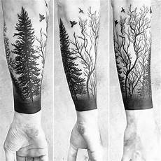 Forest Arm Design Forest Sleeve Forest Tattoos Nature Tattoos Tattoos