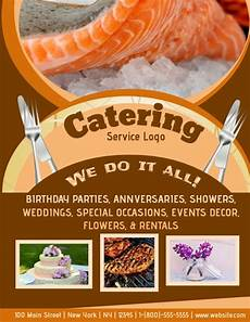 Catering Flyers Design Catering Template Postermywall