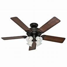 Add Light To Hunter Ceiling Fan Hunter Fan Company Studio Series New Bronze Ceiling Fan