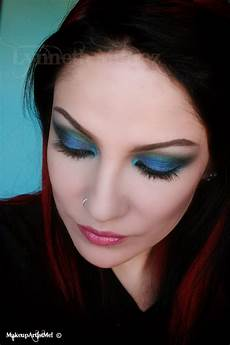 Make Up Werkzeugwerkzeugmaschinen by Make Up Artist Me Peacock Stare Makeup Tutorial