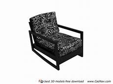 Individual Sofa 3d Image by Fabric Single Sofa Chair 3d Model 3dmax Files Free
