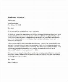 University Transfer Letter Sample 13 Employee Transfer Letter Templates Doc Pdf Free