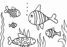 Fische Zeichnen Malvorlagen Swimming Drawing At Getdrawings Free