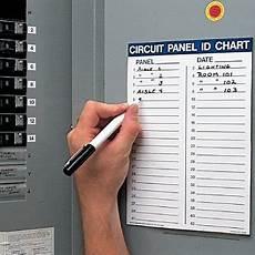 Electrical Panel Size Chart Circuit Panel Id Chart Kit Circuit Breaker Seton