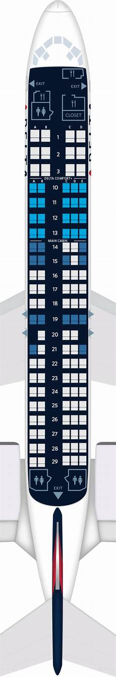 Delta Airlines Seating Chart Boeing 717 Aircraft Seat Maps Specs Amp Amenities Delta