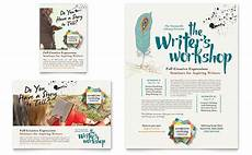 How To Write A Good Flyer Writer S Workshop Flyer Amp Ad Template Word Amp Publisher
