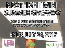 Led Grow Light Giveaway Nextlight Mini Led Grow Light Summer Giveaway Led Grow