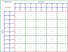 Football Square Template Free 6 Blank Printable Football Squares Template Download
