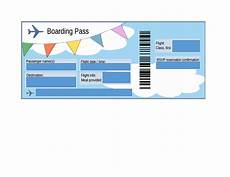 Airline Ticket Template Free 16 Real Amp Fake Boarding Pass Templates 100 Free ᐅ