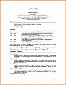 Resume For Graduate Student 5 Resume Templates For Graduate Students Professional