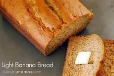 Light Banana Bread Light Banana Bread Culinary Mamas