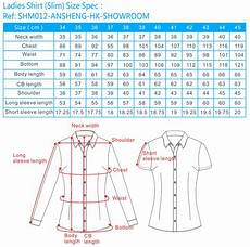 Slim Fit Shirt Size Chart Uk Shirt Size Chart Shirt Size Chart Slim Fit Shirt Size