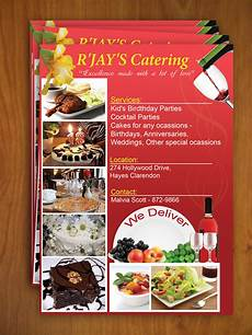 Catering Flyer Catering Flyer By Yanic On Deviantart