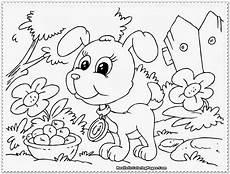 ausmalbilder hundebabys malvorlage gratis