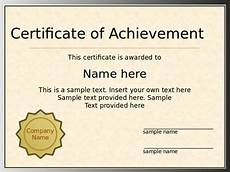 Powerpoint Certificate Of Appreciation 7 Powerpoint Certificate Template Free Sample Example