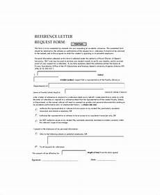 Form Of Reference Letter Free 6 Sample Employment Reference Letter Templates In
