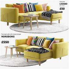 Sofa With Chaise Lounge 3d Image by Ikea Norsborg Two Seat Sofa With Chaise Longue 3d Model