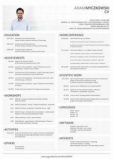 Cv Format In English Resume Template Cv English