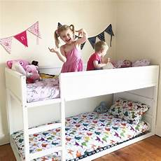 simple ikea kura bunk bed hack the bunk beds for