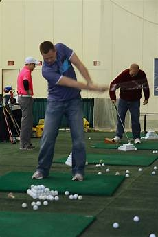 swing lessons west michigan golf show