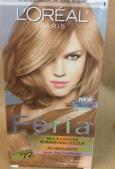 Feria Hair Colour Chart L Oreal Feria Multi Faceted Shimmering 3x Highlights