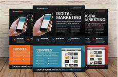 Flyers For Advertising Digital Marketing Flyer Psd Flyer Templates Creative