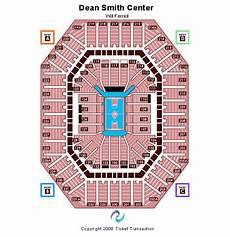 Dean E Smith Center Seating Chart Rows Dean E Smith Center Seating Chart