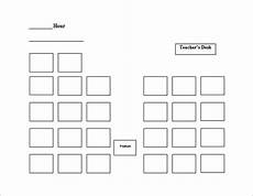 Seating Chart Creator Free Seating Chart Template 9 Free Word Excel Pdf Format